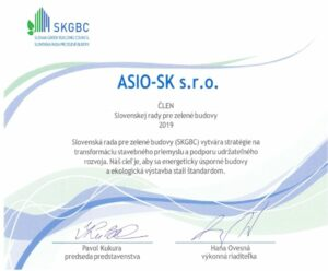 ASIO-SK clen Zelena budova